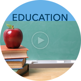 Link to education page with videos and downloads